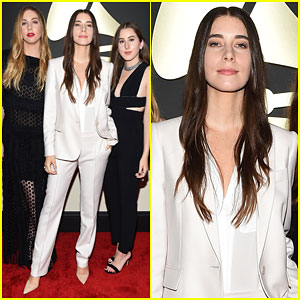 Haim Gets Ready to Dance the Night Away with Taylor Swift at Grammys 2015