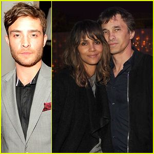 Halle Berry & Olivier Martinez Couple Up for Pre-Oscars Party
