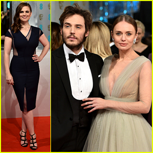 Hayley Atwell & Sam Claflin Are All Dressed Up for BAFTAs 2015