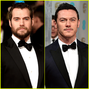 Henry Cavill & Luke Evans Make the BAFTAs So Much Hotter