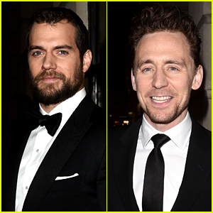 Henry Cavill & Tom Hiddleston Suit Up for BAFTA Gala Dinner