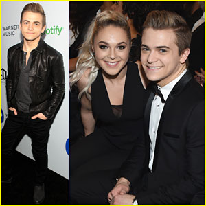 Hunter Hayes Shows Off Girlfriend Libby Barnes at Grammys 2015