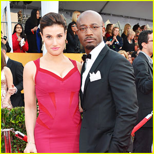 Taye Diggs Loved His 'Baby Mama' Idina Menzel's Super Bowl 2015 Performance