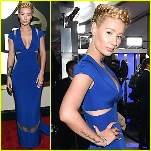 Iggy Azalea's Braids Make Her Look Like a Goddess at Grammys 2015