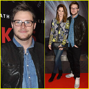 Jack Reynor Stays Close to Fiancee Madeline Mulqueen at 'Patrick's Day' Premiere