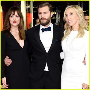 Jamie Dornan & Dakota Johnson Bring 'Fifty Shades of Grey' to Berlin!