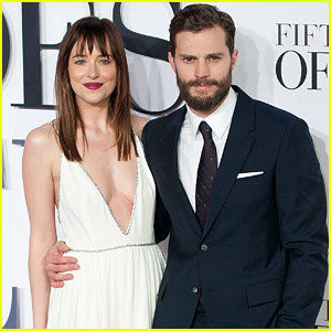 Jamie Dornan & Dakota Johnson Premiere 'Fifty Shades of Grey' in London!