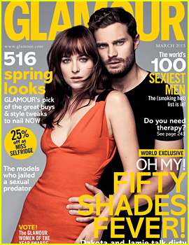 Dakota Johnson & Jamie Dornan Show Their Sexy Side for 'Glamour UK'