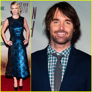 January Jones Joins Will Forte & 'The Last Man On Earth' Cast at L.A Premiere!