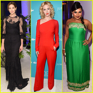 January Jones & Michelle Monaghan Help Honor Costume Designers at CDGAs!