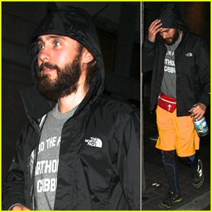 Jared Leto Brings His Fanny Pack to Dinner