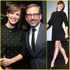 Jennifer Garner Honors Steve Carell with Outstanding Performer of the Year Award