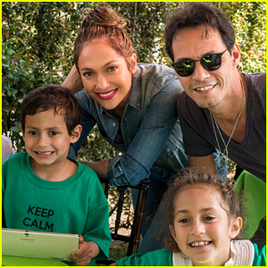 Jennifer Lopez & Marc Anthony Celebrate Twins Max & Emme's 7th Birthday Together!