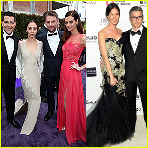 Jesse Metcalfe, Dave Annable & Chris Hardwick Bring Their Lovely Ladies to Oscar After Parties