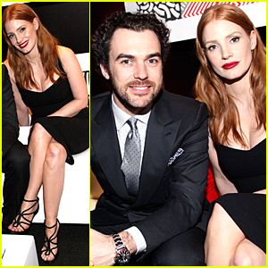 Jessica Chastain & Gian Luca Passi de Preposulo Celebrate Foreign Language Films Together