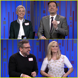 Jimmy Fallon Plays Password with Reese Witherspoon, Ellen DeGeneres, & Steve Carell on 'The Tonight Show'!