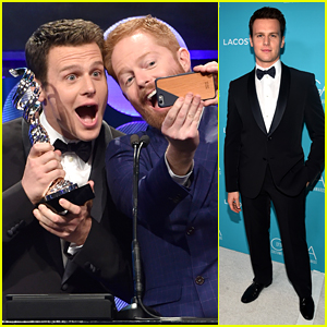 Jonathan Groff Sure Is 'Looking' Fine at the CDGAs!