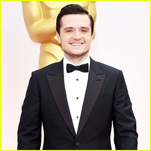 Josh Hutcherson Suits Up for Oscars 2015