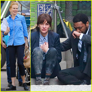 Chiwetel Ejiofor Comforts Crying Julia Roberts During 'The Secret in Their Eyes' Filming