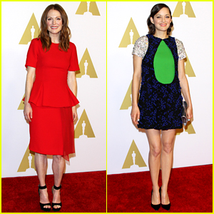 Julianne Moore & Marion Cotillard Are Best Actress Beauties!