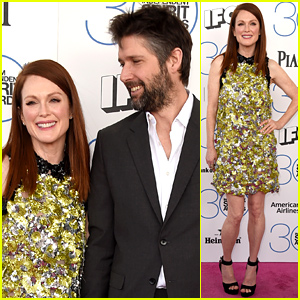 Julianne Moore Brings Hubby Bart Freundlich for Support at Spirit Awards 2015!