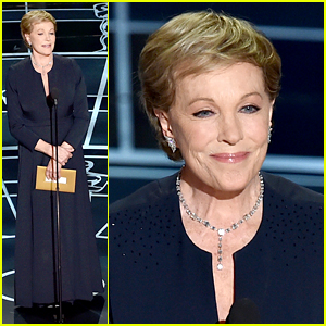 Julie Andrews Makes Surprise Appearance at Oscars 2015!