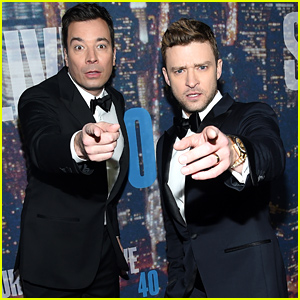Justin Timberlake & Jimmy Fallon Arrive for 'SNL 40' Red Carpet!