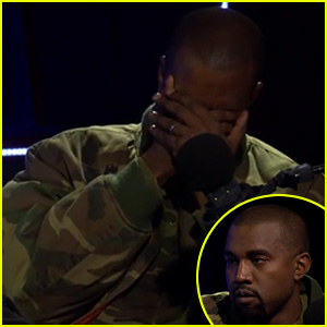 Kanye West Cries During New Interview