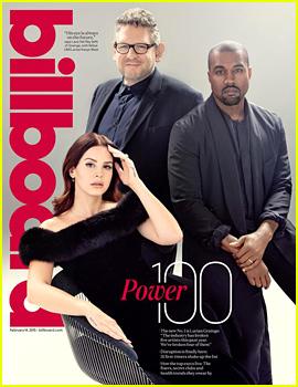 Kanye West & Lana Del Rey Cover 'Billboard' Power 100