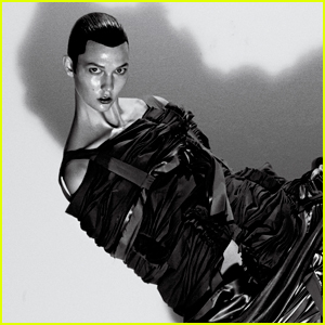 Unrecognizable Karlie Kloss Gets Tied Up For 'V' Magazine Feature