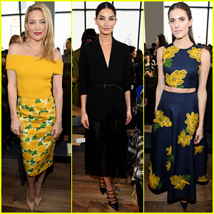 Kate Hudson & Lily Aldridge Bring the Beauty to Michael Kors Fashion Show!