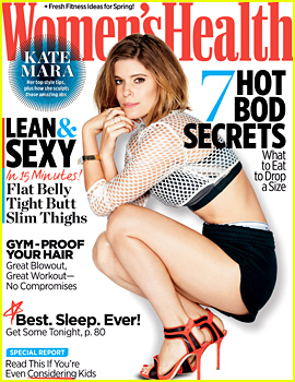 Kate Mara to 'Women's Health': If I Wasn't Acting, I'd Be Dead