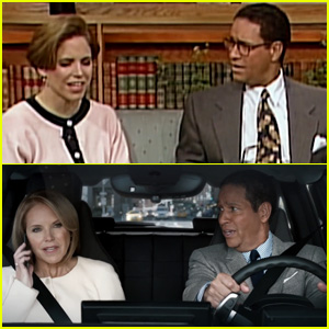 BMW i3 Super Bowl 2015 Commercial: Katie Couric & Bryant Gumbel Make Fun of Themselves - Watch Now!