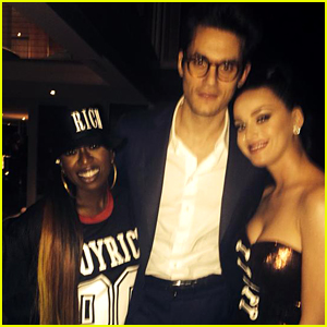 Katy Perry Gets John Mayer's Love at Super Bowl After Party!