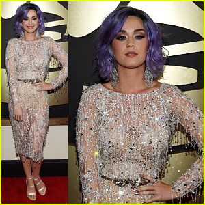 Katy Perry Is Fab in Fringe on Grammys 2015 Red Carpet