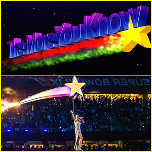 Katy Perry Emulated 'The More You Know' Logo with Super Bowl Star!