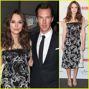 Keira Knightley Dresses Up Baby Bump For London Reception