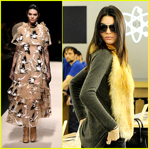 Kendall Jenner Continues Fashion Week Triumphs in Milan!