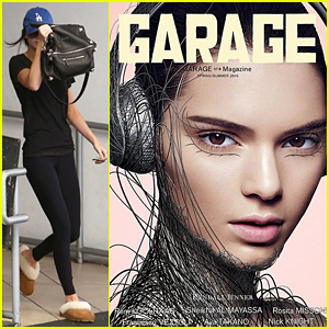 Kendall Jenner Gets Tangled in Wires for 'Garage' Magazine