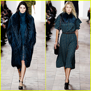 Kendall Jenner & Gigi Hadid Are 'Michael Kors' Runway Models During NYFW