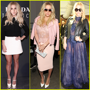 Kesha Steps Up Her Style for New York Fashion Week Shows!