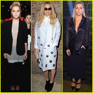 Kesha Takes New York Fashion Week By Storm!