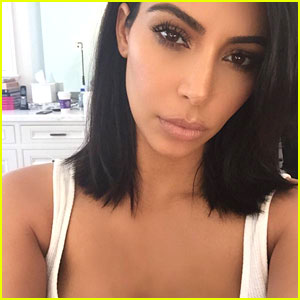 Kim Kardashian Shows Off Her New Short Haircut!