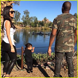 Kim Kardashian Shares Cute Pics of North West at the Zoo!