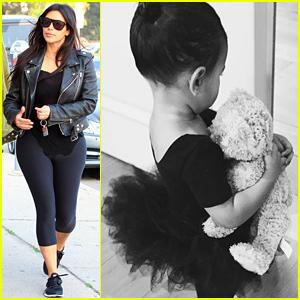 Kim Kardashian's Daughter North West is Her 'Princess Ballerina Baby'!