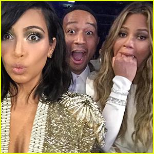 Kim Kardashian Tweets Her 'Beck Won That Award Face?!'