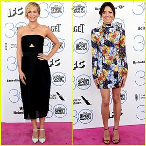 Kristen Wiig & Aubrey Plaza Bring Laughs to Spirit Awards 2015