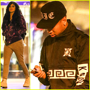 Kylie Jenner & Tyga Step Out Together for Late-Night Movie Date
