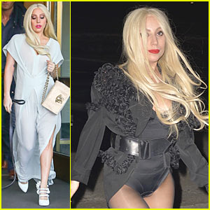 Lady Gaga Feels Much Better After Hanging Out With Friends