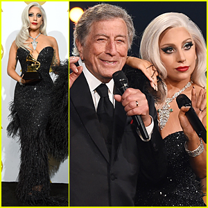 Lady Gaga & Tony Bennett Perform Duet 'Cheek to Cheek' at Grammys 2015 (Video)